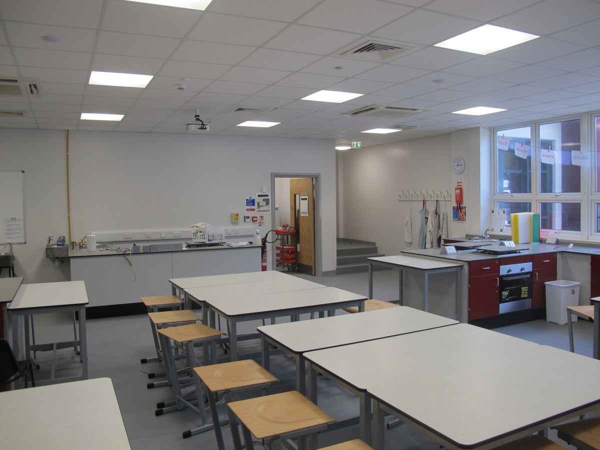 Food Tech Room - St Margaret's C of E Academy - Liverpool - 4 - SchoolHire