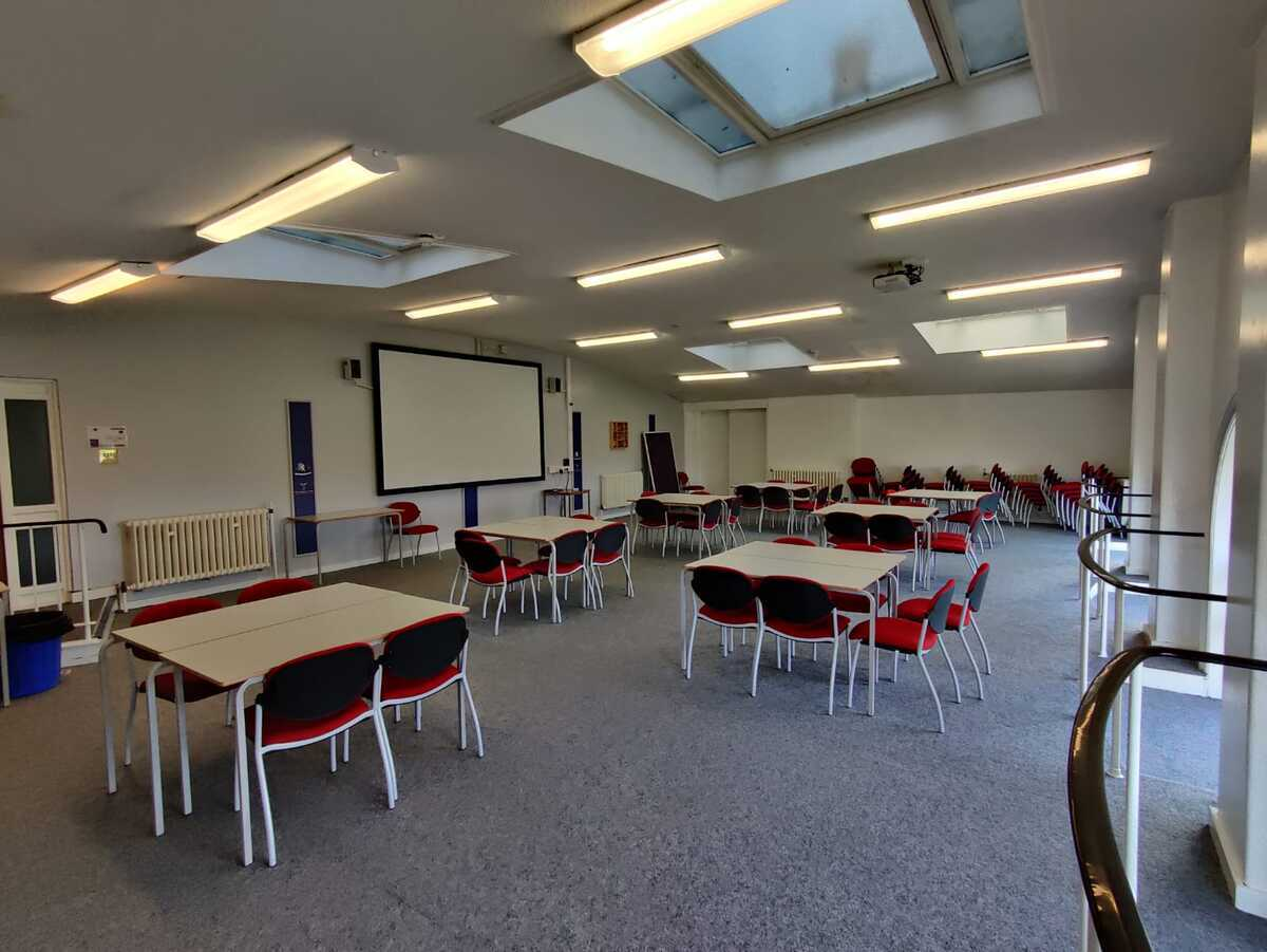Assembly Room - EDU @ Queens Park High School - Cheshire West and Chester - 1 - SchoolHire