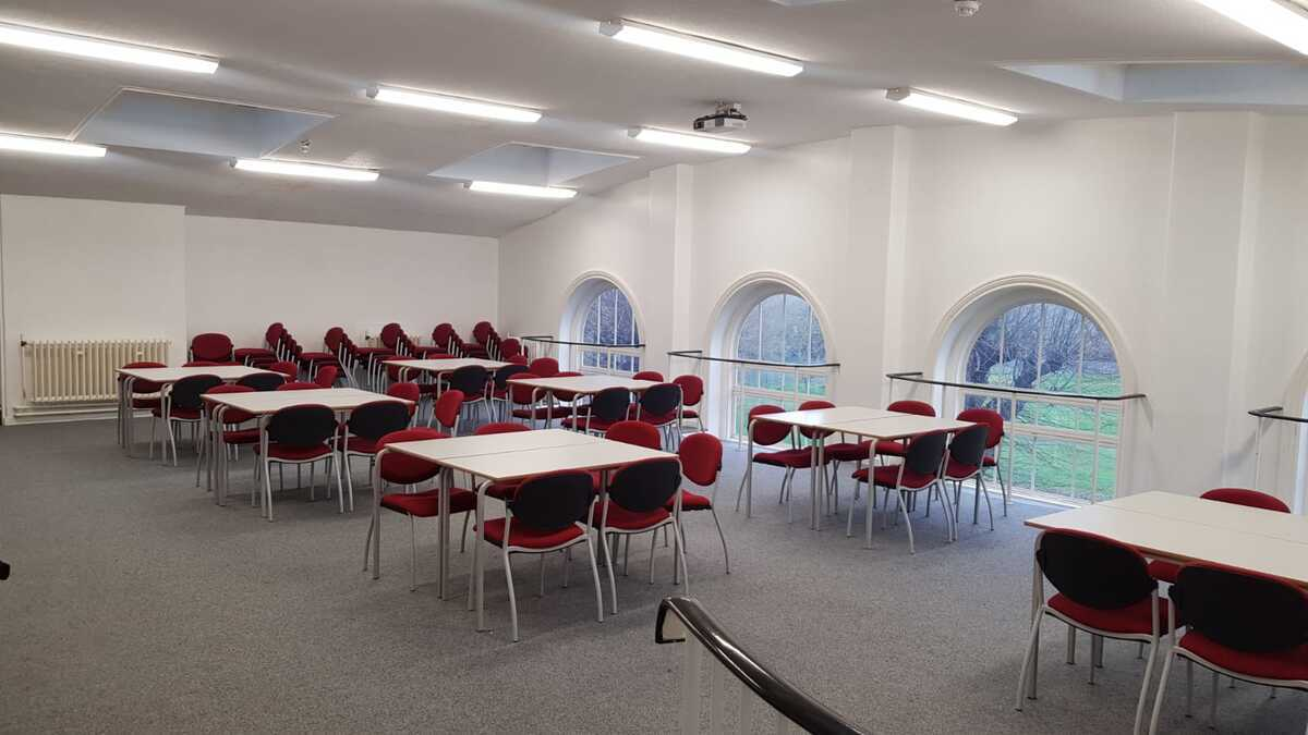 Assembly Room - EDU @ Queens Park High School - Cheshire West and Chester - 3 - SchoolHire