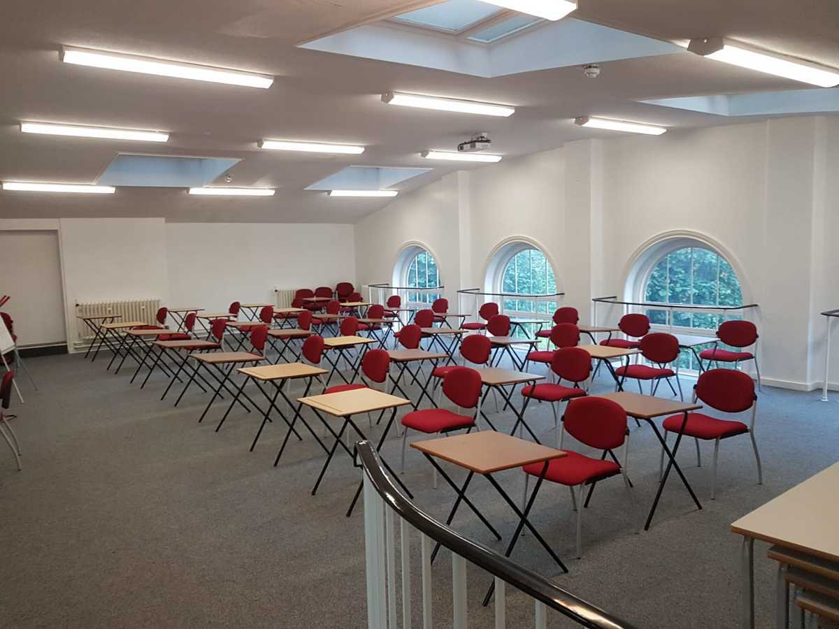 Assembly Room - EDU @ Queens Park High School - Cheshire West and Chester - 4 - SchoolHire