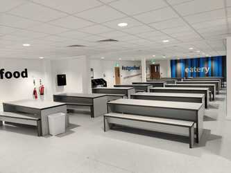 Dining Area - EDU @ Queens Park High School - Cheshire West and Chester - 2 - SchoolHire