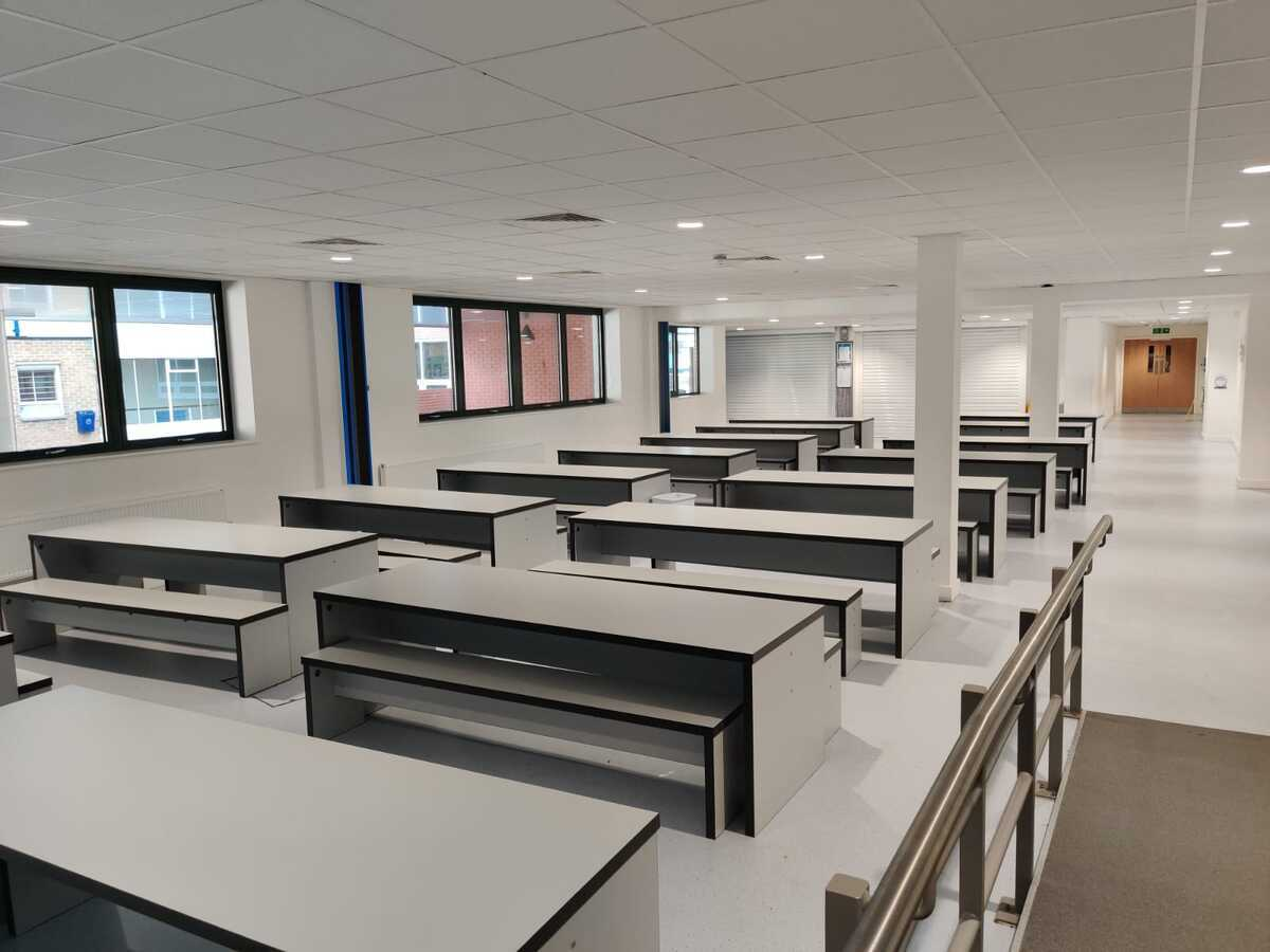 Dining Area - EDU @ Queens Park High School - Cheshire West and Chester - 3 - SchoolHire