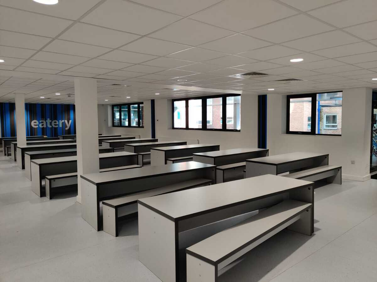 Dining Area - EDU @ Queens Park High School - Cheshire West and Chester - 4 - SchoolHire