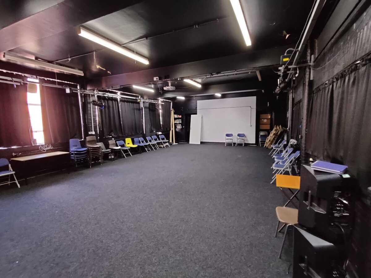 Drama Studio 1 - EDU @ Queens Park High School - Cheshire West and Chester - 2 - SchoolHire