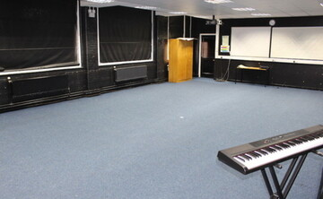 Drama Studio 2 - EDU @ Queens Park High School - Cheshire West and Chester - 1 - SchoolHire