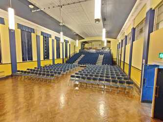 Main Hall - EDU @ Queens Park High School - Cheshire West and Chester - 1 - SchoolHire