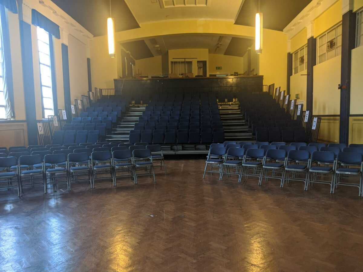 Main Hall - EDU @ Queens Park High School - Cheshire West and Chester - 3 - SchoolHire