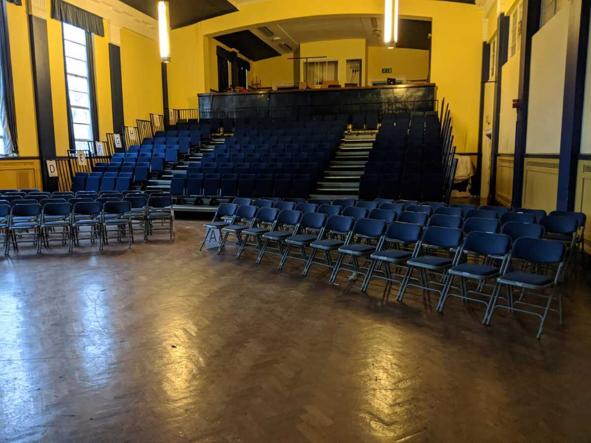 Main Hall - EDU @ Queens Park High School - Cheshire West and Chester - 4 - SchoolHire