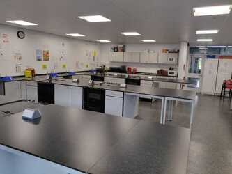 Cookery Room - EDU @ Queens Park High School - Cheshire West and Chester - 2 - SchoolHire