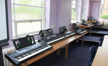 Music Room - EDU @ Queens Park High School - Cheshire West and Chester - 1 - SchoolHire