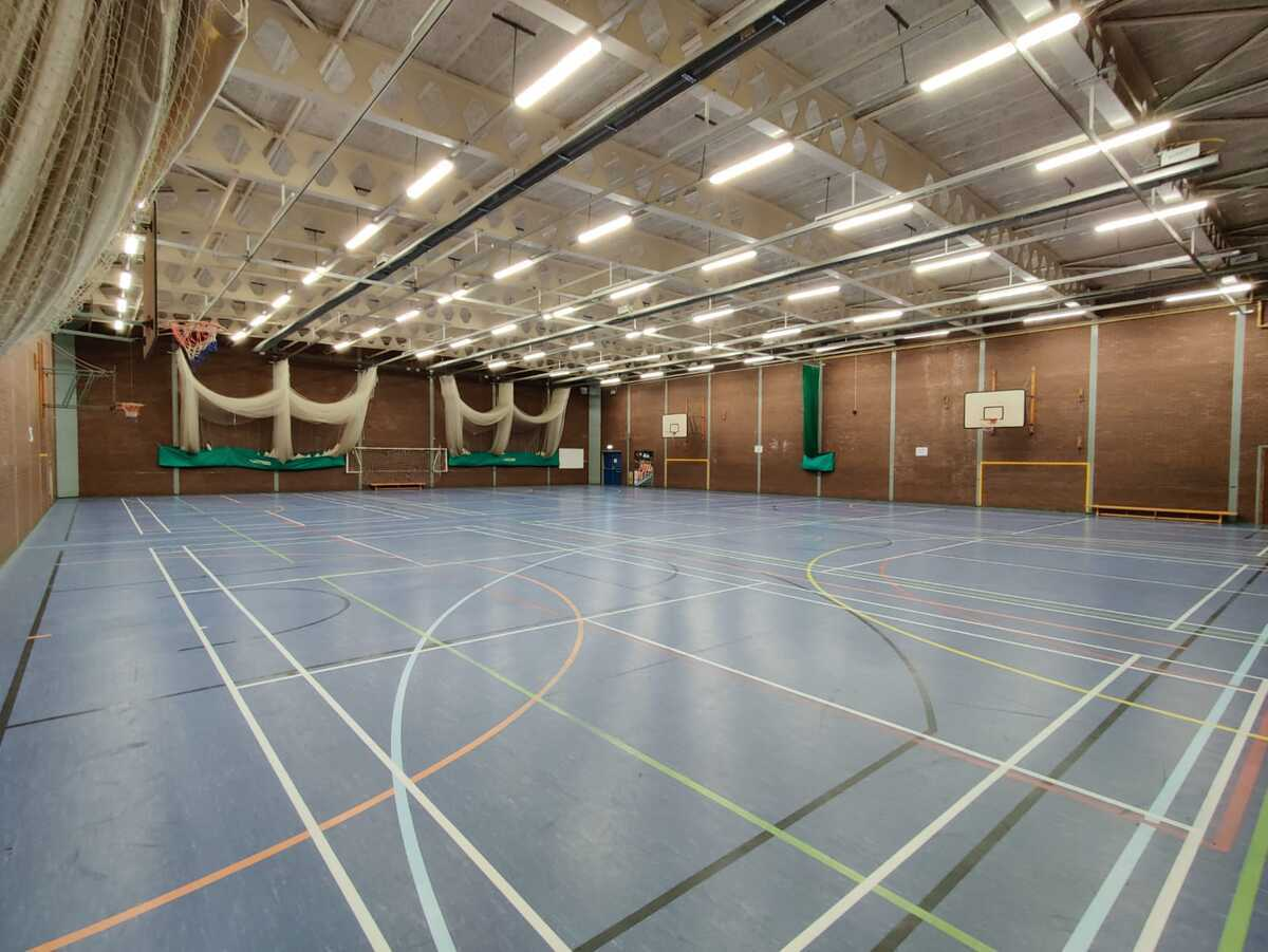 Sports Hall - EDU @ Queens Park High School - Cheshire West and Chester - 1 - SchoolHire