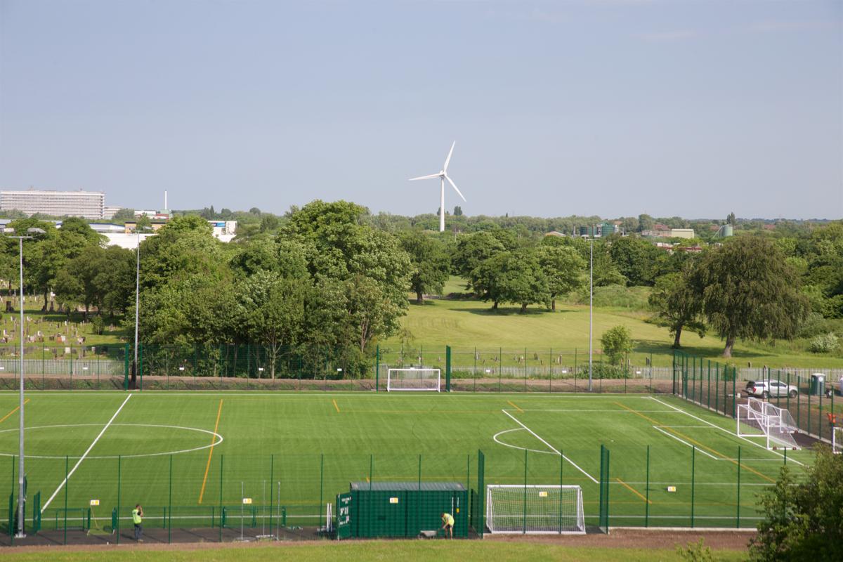 3G Football Pitch - St John Bosco Arts College - Liverpool - 2 - SchoolHire