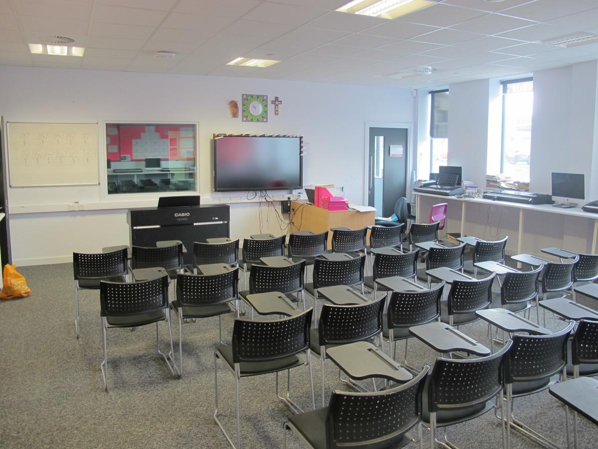 Music Room - St John Bosco Arts College - Liverpool - 1 - SchoolHire