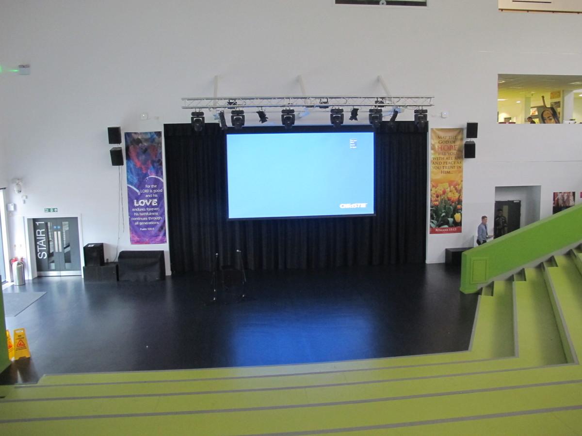The Hill Theatre - St John Bosco Arts College - Liverpool - 1 - SchoolHire
