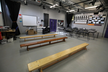 Drama Studio - Aldercar High School - Nottingham - 1 - SchoolHire