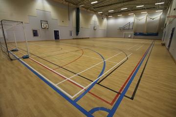 Sports Hall - Aldercar High School - Nottingham - 1 - SchoolHire