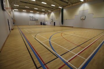 Sports Hall - Aldercar High School - Nottingham - 3 - SchoolHire