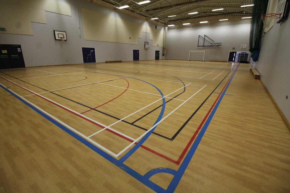 Sports Hall - Aldercar High School - Nottingham - 4 - SchoolHire