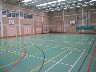 Sports Hall - Brighton Girls, GDST – Montpelier Site - Brighton and Hove - 2 - SchoolHire