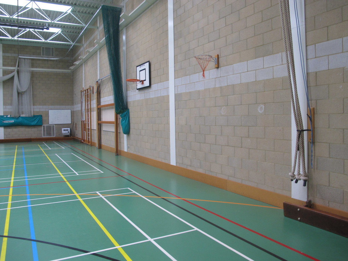 Sports Hall - Brighton Girls, GDST – Montpelier Site - Brighton and Hove - 3 - SchoolHire