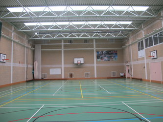 Sports Hall - Brighton Girls, GDST – Montpelier Site - Brighton and Hove - 4 - SchoolHire