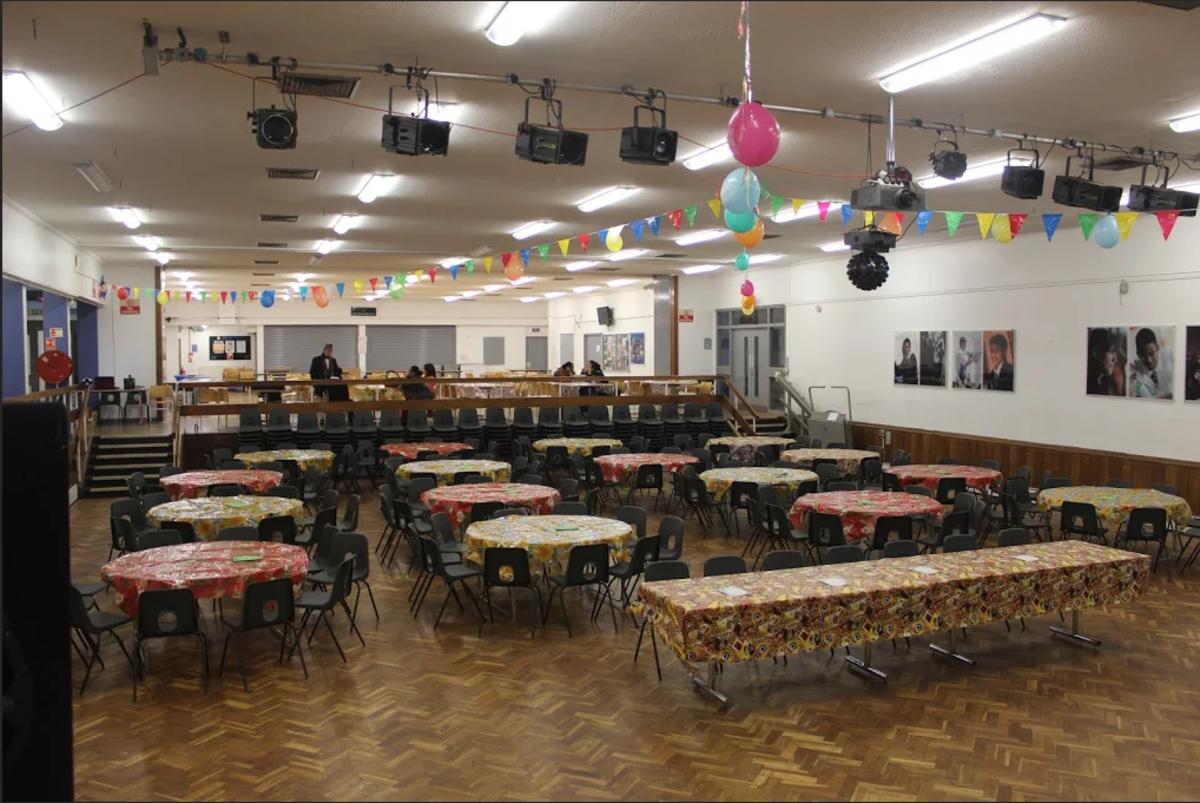 Function Hall - Tudor Park Sports & Leisure - Hounslow - 3 - SchoolHire