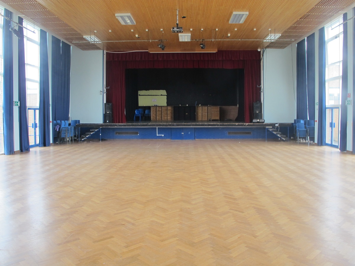Performance Main Hall For Hire In Kenilworth