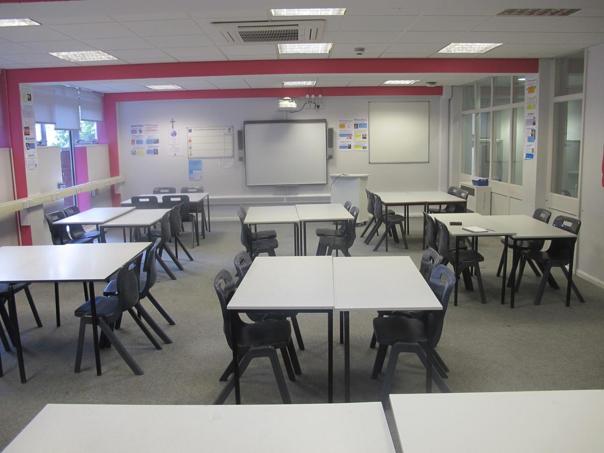 Classroom - Sport Centre - Merchants of Fitness @ OLSC - Wolverhampton - 1 - SchoolHire