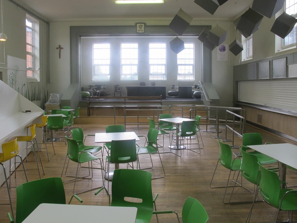 Dining Hall - Merchants of Fitness @ OLSC - Wolverhampton - 2 - SchoolHire