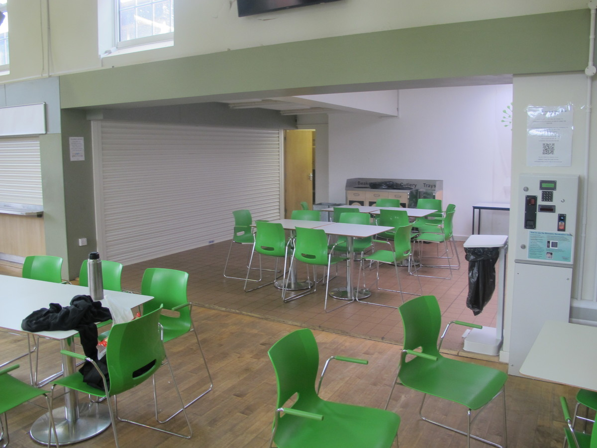 Dining Hall - Merchants of Fitness @ OLSC - Wolverhampton - 3 - SchoolHire
