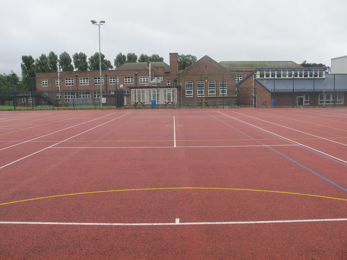 MUGA / Tennis Courts - Merchants of Fitness @ OLSC - Wolverhampton - 1 - SchoolHire