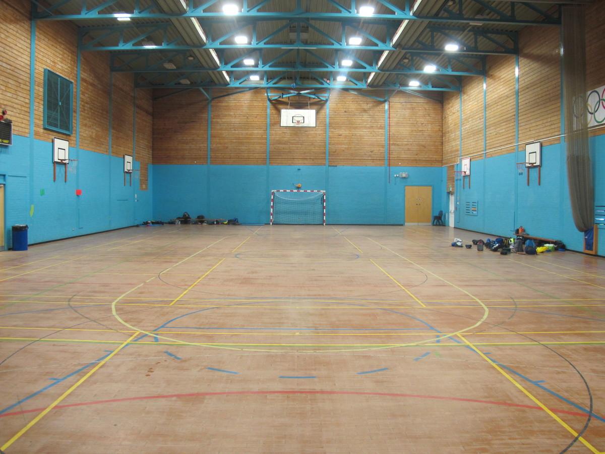Sports Hall 1 - Merchants of Fitness @ OLSC - Wolverhampton - 1 - SchoolHire