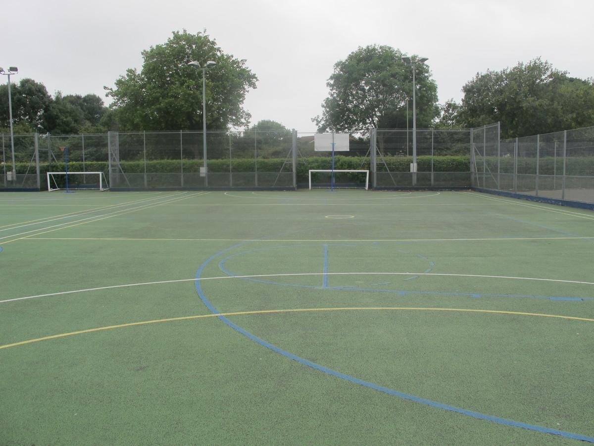 MUGA - Bridgemary School - Hampshire - 1 - SchoolHire
