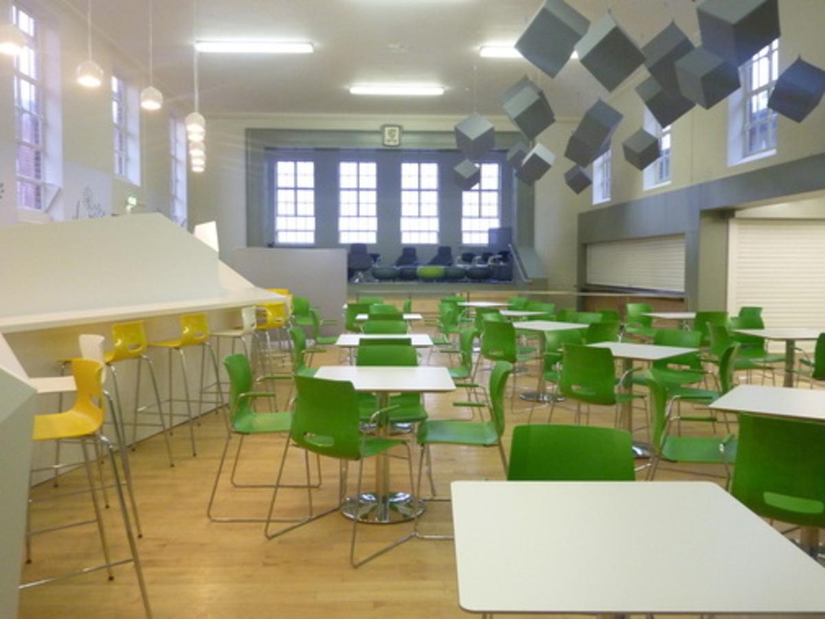 Dining Hall - Merchants of Fitness @ OLSC - Wolverhampton - 1 - SchoolHire