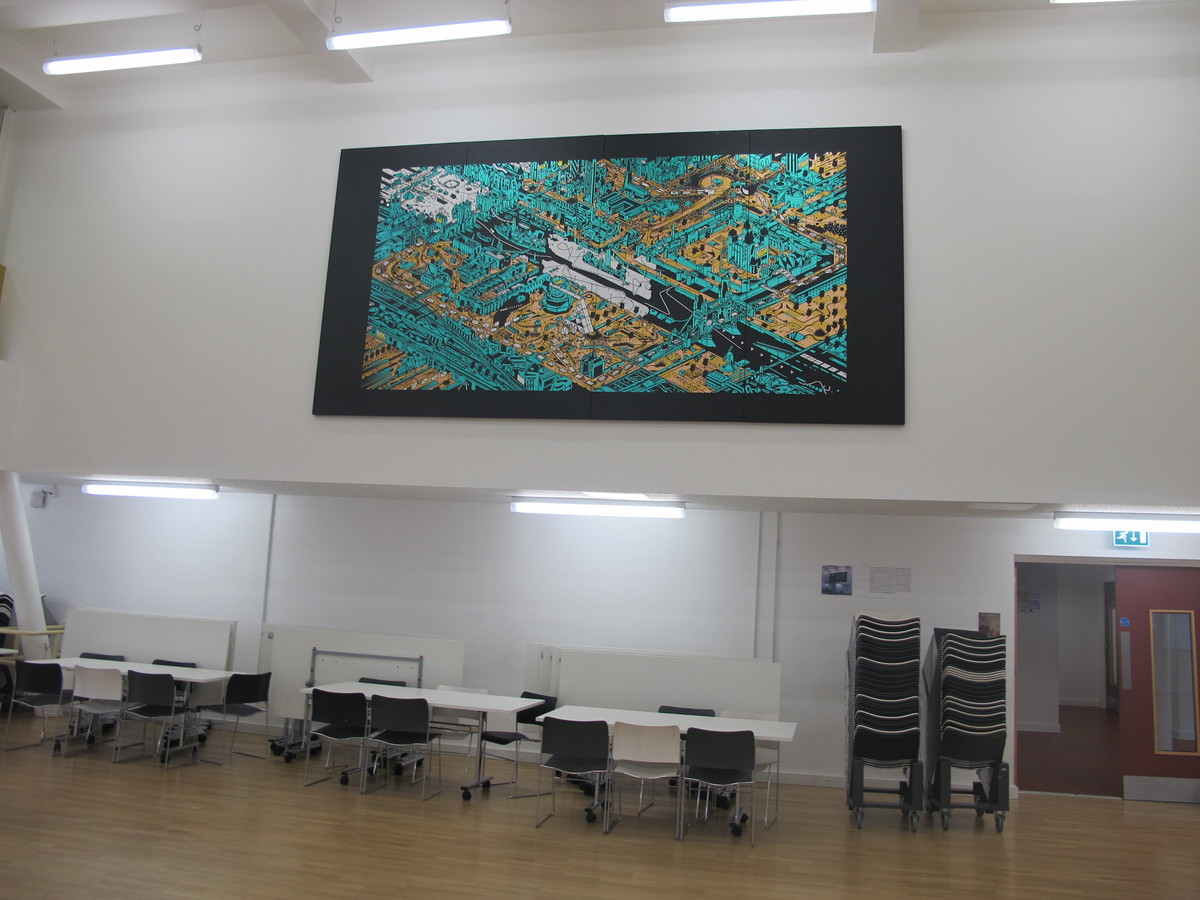 School Hall - Hackney New School - Hackney - 2 - SchoolHire