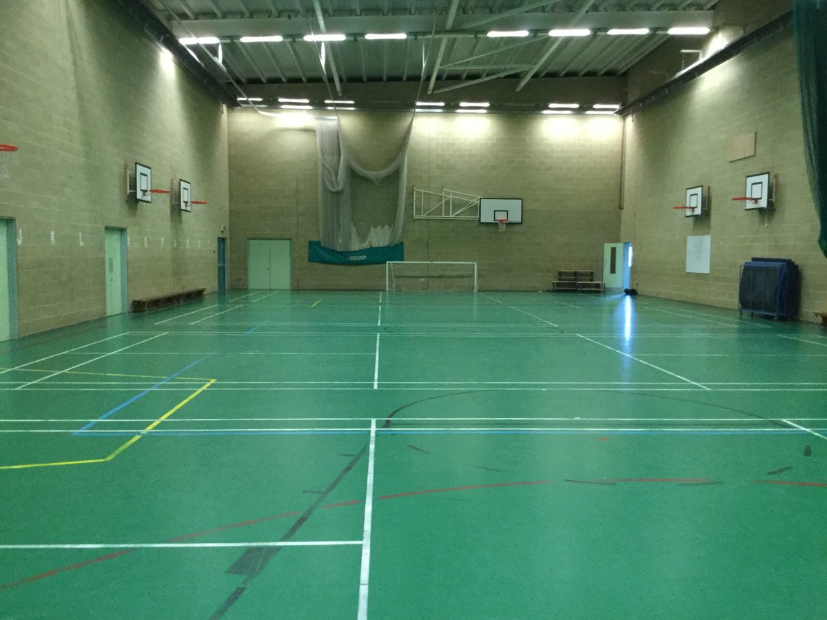 Sports Hall - The Blyth Academy - Northumberland - 1 - SchoolHire