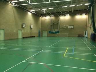 Sports Hall - The Blyth Academy - Northumberland - 2 - SchoolHire