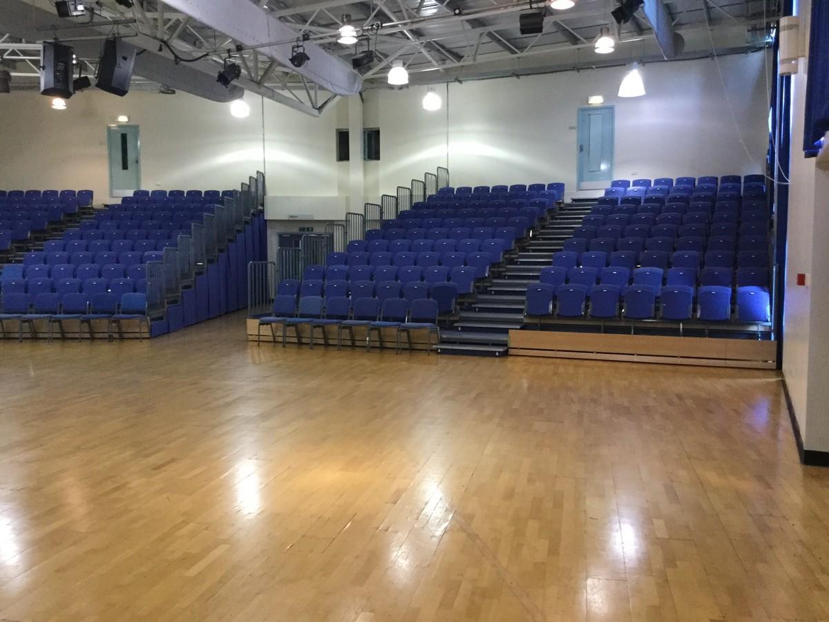 Auditorium - The Blyth Academy - Northumberland - 4 - SchoolHire