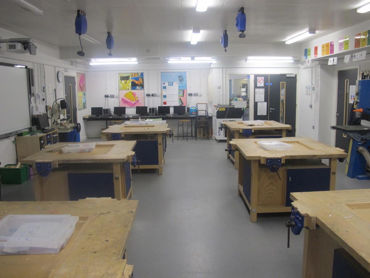 DT Room - Kirk Balk Academy - Barnsley - 2 - SchoolHire