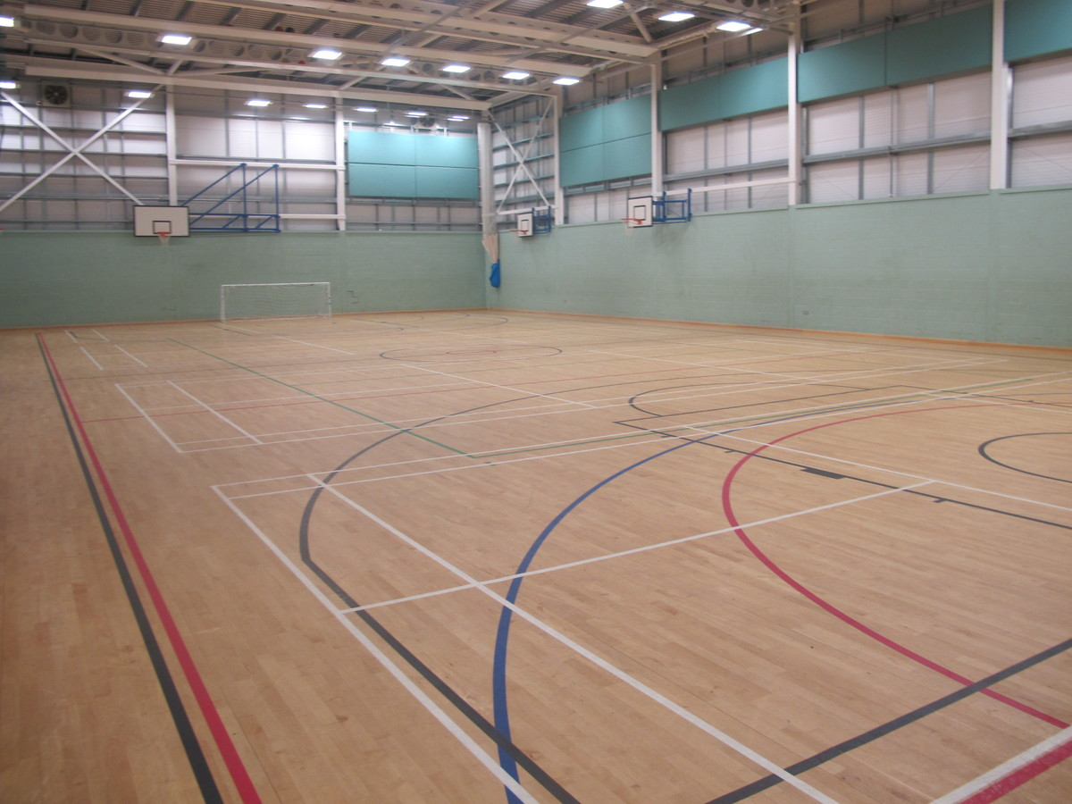 Sports Hall - Kearsley Academy - Bolton - 1 - SchoolHire