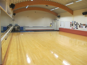 Dance Studio (G005) - Plumstead Manor School - Greenwich - 2 - SchoolHire