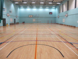 Sports Hall (H001) - Plumstead Manor School - Greenwich - 1 - SchoolHire