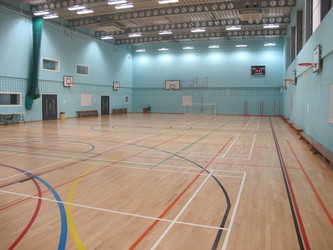 Sports Hall (H001) - Plumstead Manor School - Greenwich - 2 - SchoolHire