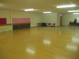 Dance Studio At Northampton High School For Hire In