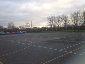 SC - Netball Court - Floodlit - Northampton High School - Northamptonshire - 2 - SchoolHire