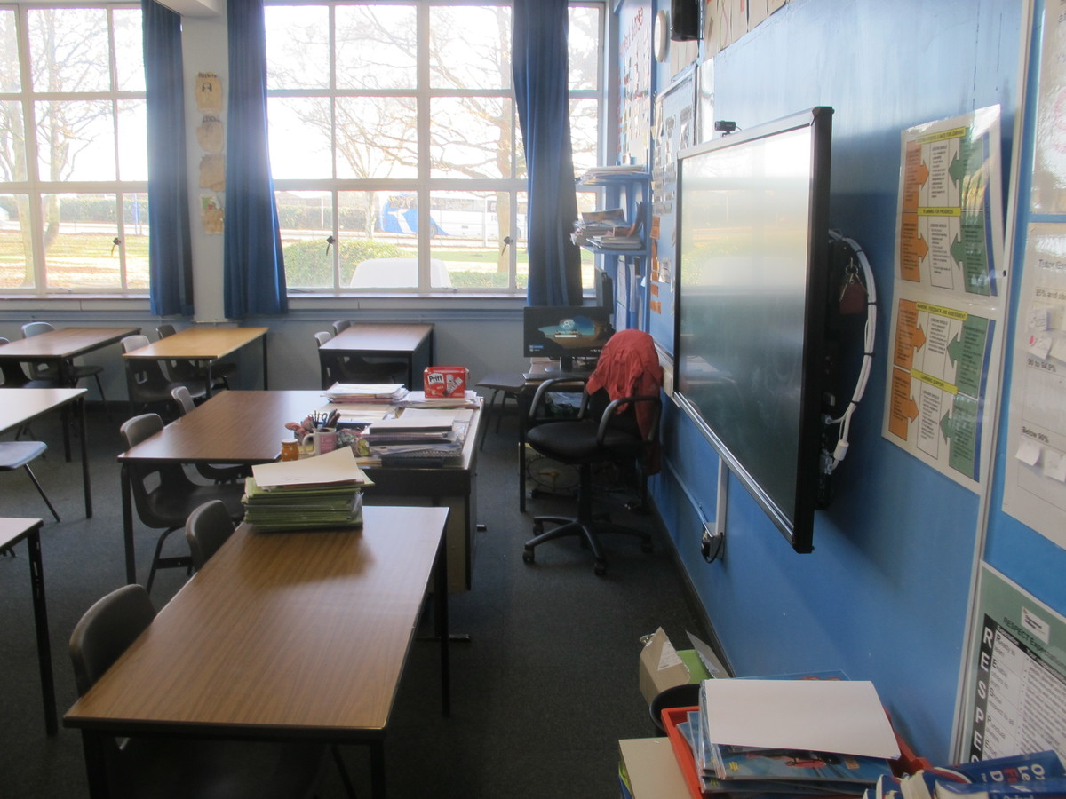 Classrooms - G Block - Charnwood College - Leicestershire - 2 - SchoolHire