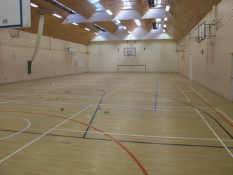 Sports Hall - Charnwood College - Leicestershire - 1 - SchoolHire