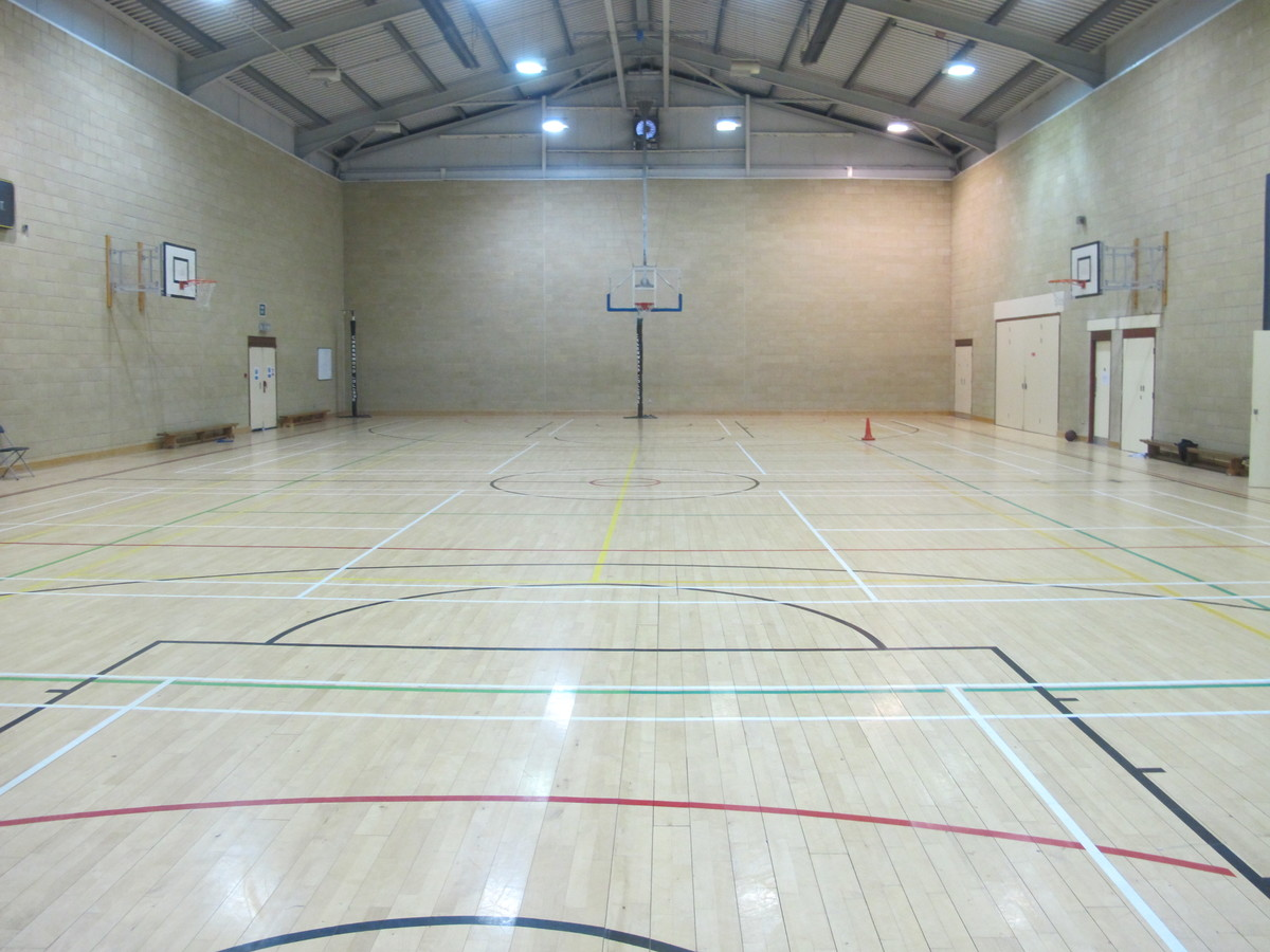 Sports Hall - Sports Centre - Charnwood College - Leicestershire - 1 - SchoolHire