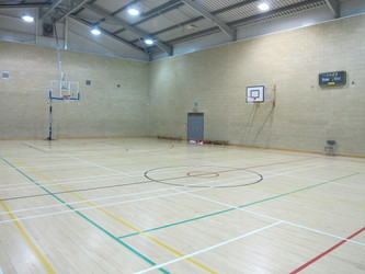 Sports Hall - Sports Centre - Charnwood College - Leicestershire - 3 - SchoolHire