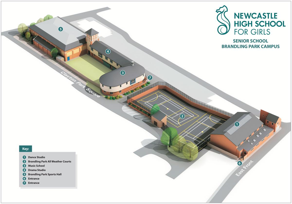 Brandling Dance Studio  - Newcastle High School for Girls - Newcastle - 2 - SchoolHire